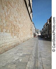 Dubrovnik, principal, rua