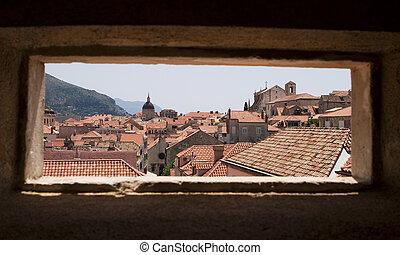 Dubrovnik Via Window