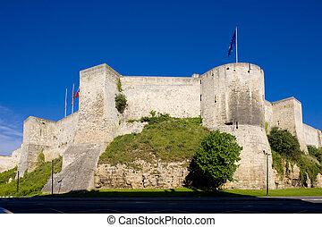Ducal Castle, Caen, Normandy, France