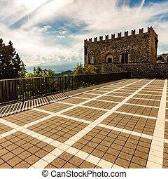 ducal palace in Sicily