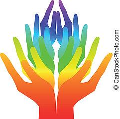 duchowość, pokój, i, miłość