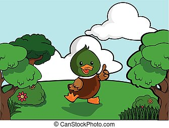 Duck and Forest scenery