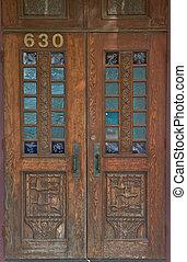 Duck Carved Doors
