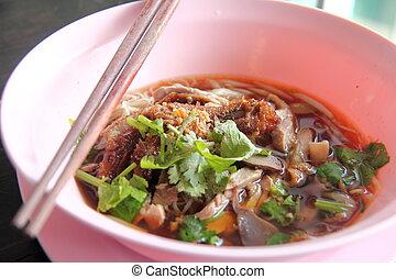 duck food soup