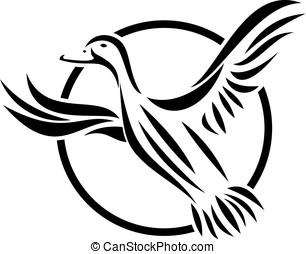 Duck Logo Template