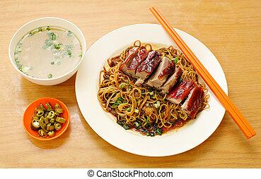 Duck noodle. food asia - Duck noodle. Duck noodle asia