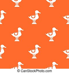 Duck spring see saw pattern seamless - Duck spring see saw ...