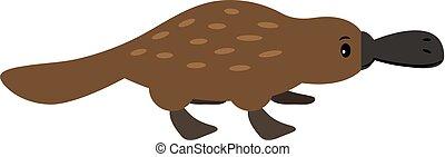 Duckbill cartoon animal