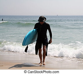 dude surfer