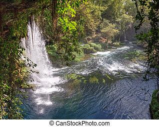 Duden Waterfalls - Antalya,Turkey - Duden Waterfalls - A...