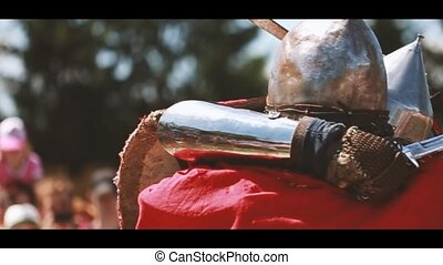 Historical Restoration Of Knightly Fights On Festival Of...