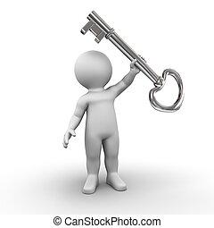 dueño, llave