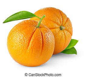 due, arance