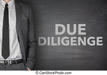 Due diligence on blackboard