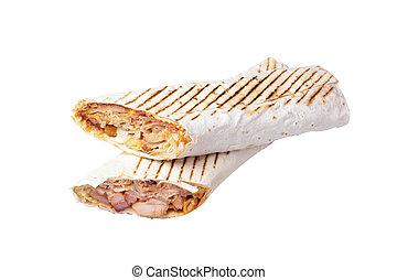 due, shawarma