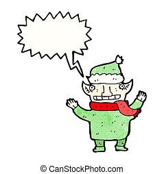duende, caricatura