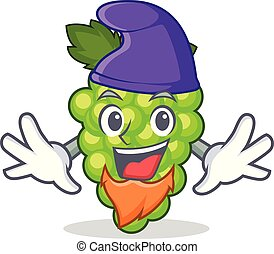duende, uvas verdes, carácter, caricatura