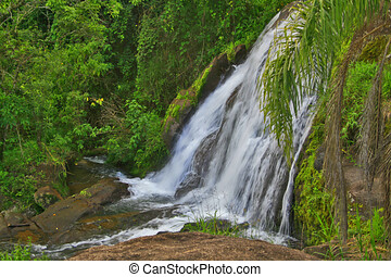 Duendes Waterfall in Caldas city