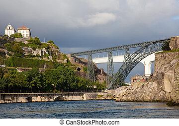 duero, rivière, porto, portugal