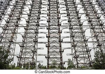 DUGA 3 Soviet radar facility near Chernobyl