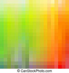 duha, barvitý, mozaika, grafické pozadí