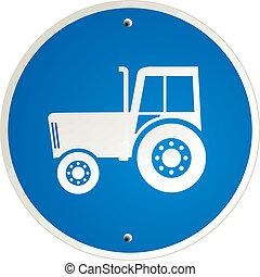 duidelijk, tractor