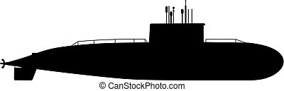 duikboot, moderne, (sub)