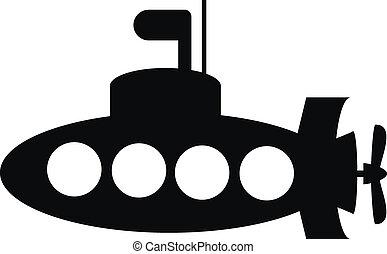 duikboot, pictogram