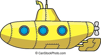 duikboot, spotprent