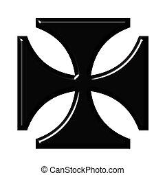 duitser, kruis, 3d