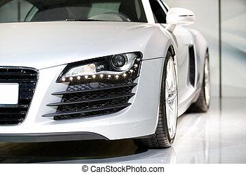 duitser, luxe, sportende, auto