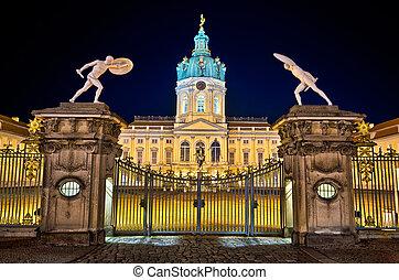 duitsland, charlottenburg paleis, berlin