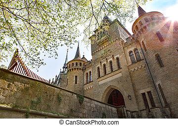 duitsland, marienburg, kasteel, niedersachsen