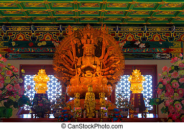 duizend, handen, u, lai, opperst, god, in, chinese cultuur