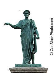 Duke De Richelieu Odessa - Statue of Duke De Richelieu in...