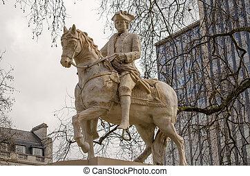 Duke of Cumberland Statue, London