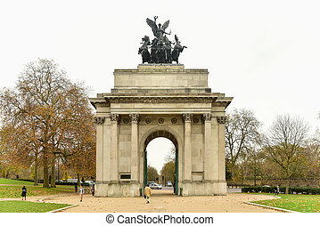 Duke of Wellington Memorial Arch, London - Wellington Arch,...