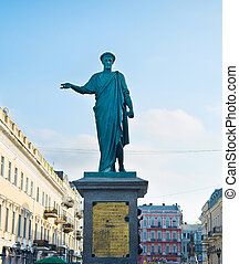 Duke Richelieu statue, Odessa