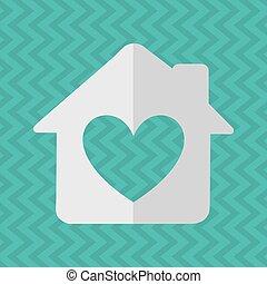 dulce, diseño, hogar