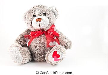 dulce, oso, teddy
