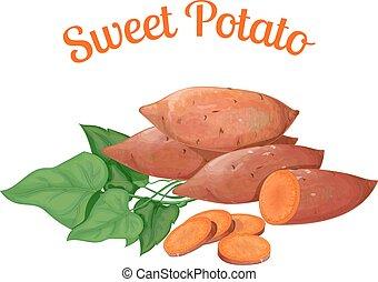 dulce, potato.