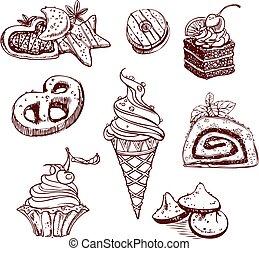 dulces, colección