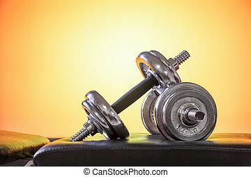 dumbbell, 重量訓練, 設備