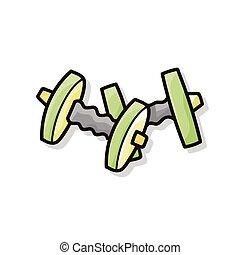 Dumbbell doodle
