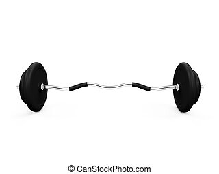 dumbbell isolated view