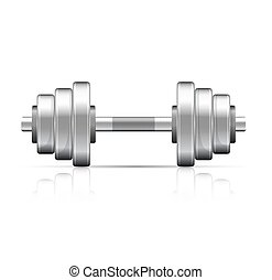 Dumbbell with removable disks