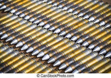 dummy ammunition for a combat helicopter - 30mm cannon...