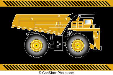 Dump truck construction machinery equipment