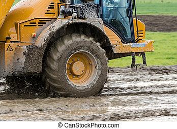 Dump Truck Mud