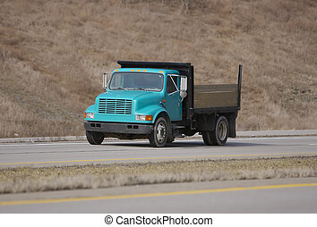 Dump Truck on the Highway